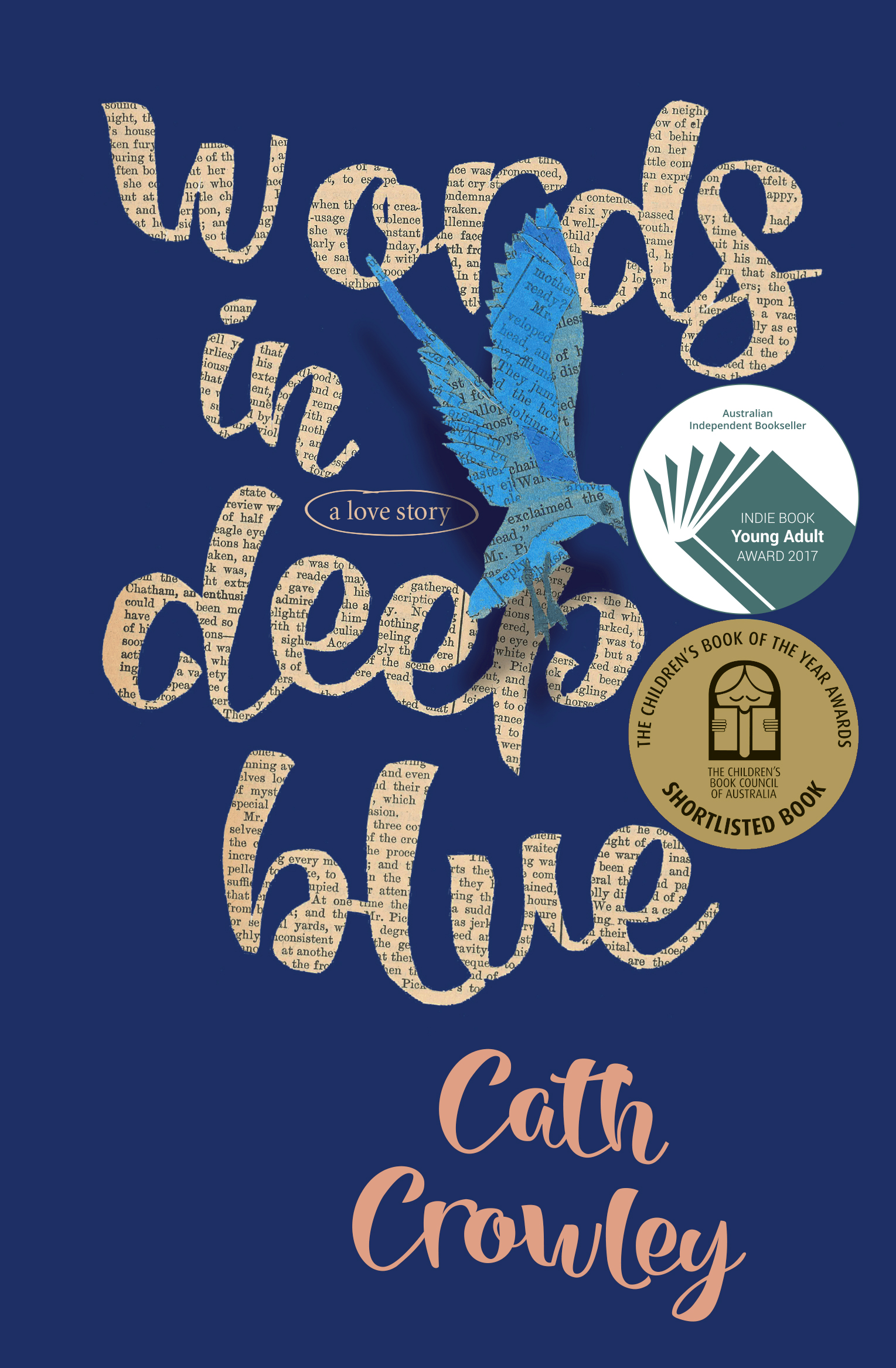 Words in Deep Blue cover