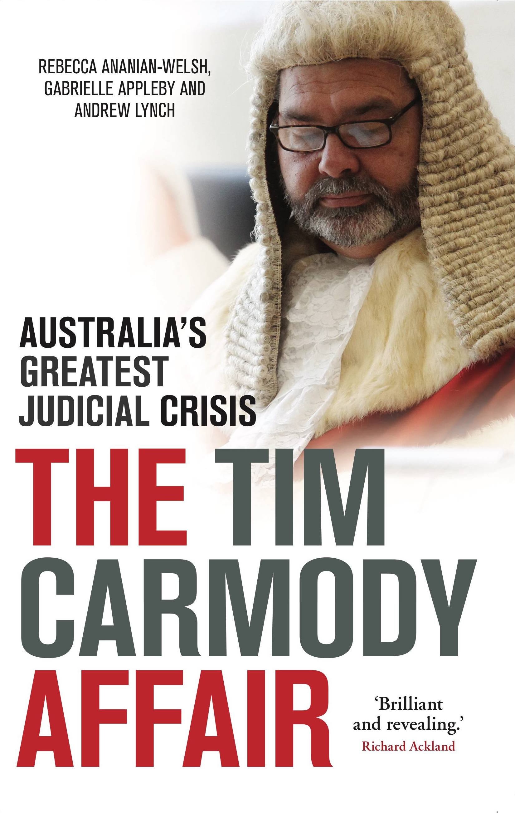 The Tim Carmody Affair cover